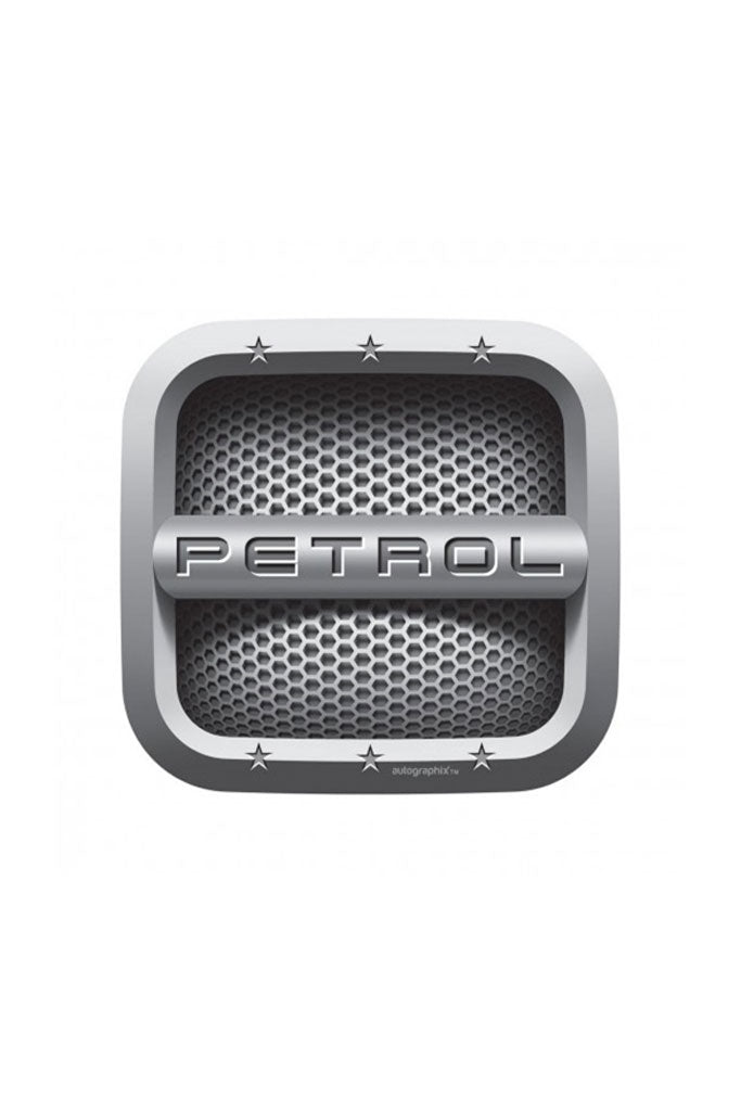 Petrol Fuel Badge - Square