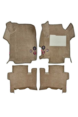 Royal 5D Car Floor Mat Beige (Set of 4)