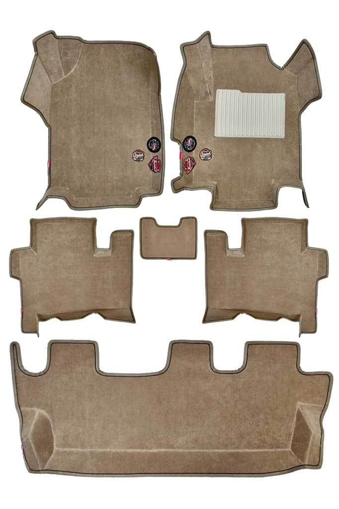 Royal 5D Car Floor Mat Beige (Set of 6)