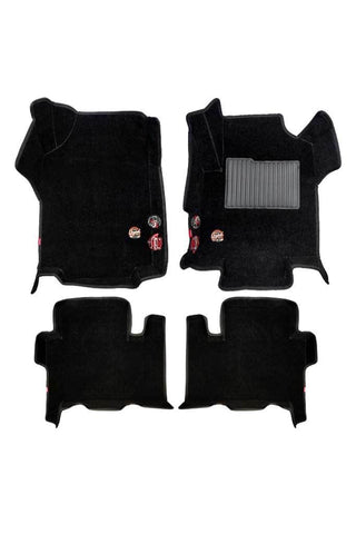 Royal 5D Car Floor Mat Black (Set of 4)