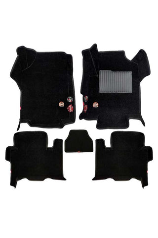 Royal 5D Car Floor Mat Black (Set of 5)