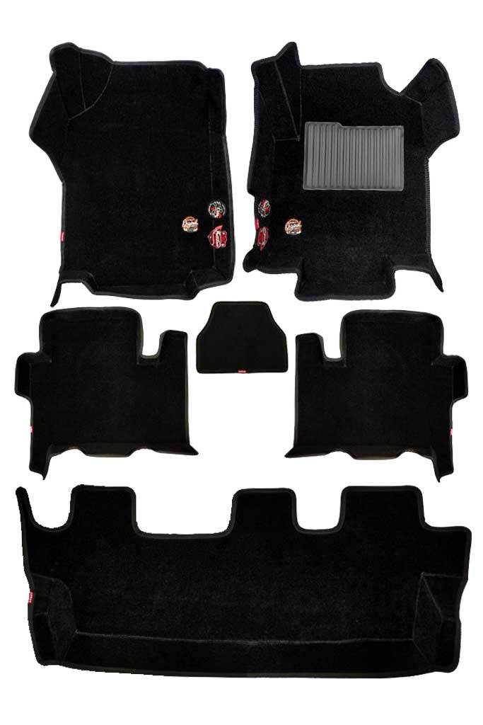 Royal 5D Car Floor Mat Black (Set of 6)