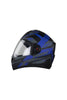 Steelbird Air R2K Full Face Helmet-Matt Black With Blue