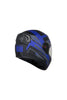 Steelbird Air R2K Night Vision Full Face Helmet-Matt Black With Blue