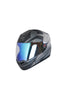 Steelbird Air R2K Night Vision Full Face Helmet-Matt Black With Grey