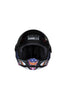 Steelbird Air Horn Full Face Helmet-Matt Black With Orange