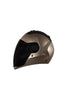 Steelbird Air Full Face Helmet-Matt Rose Gold
