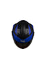 Steelbird Air Streak Full Face Helmet-Matt Black With Blue