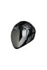 Steelbird Air Strength Full Face Helmet-Matt Black With Silver
