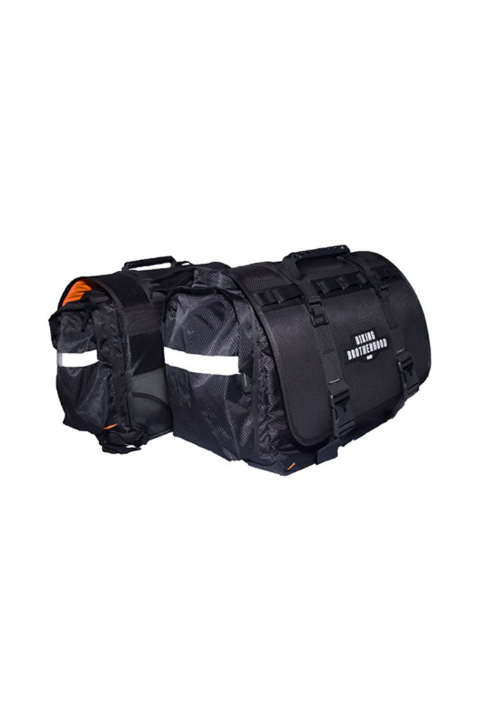 Biking Brotherhood Saddle Bag Black