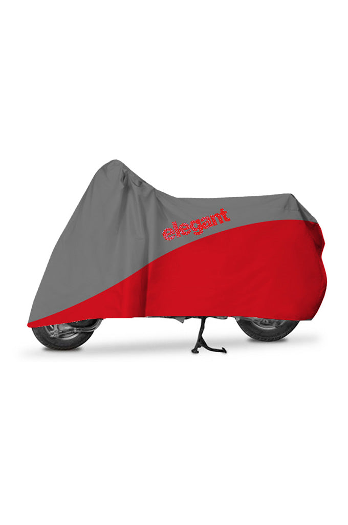 Elegant Body Cover WR Grey And Red for Scooters
