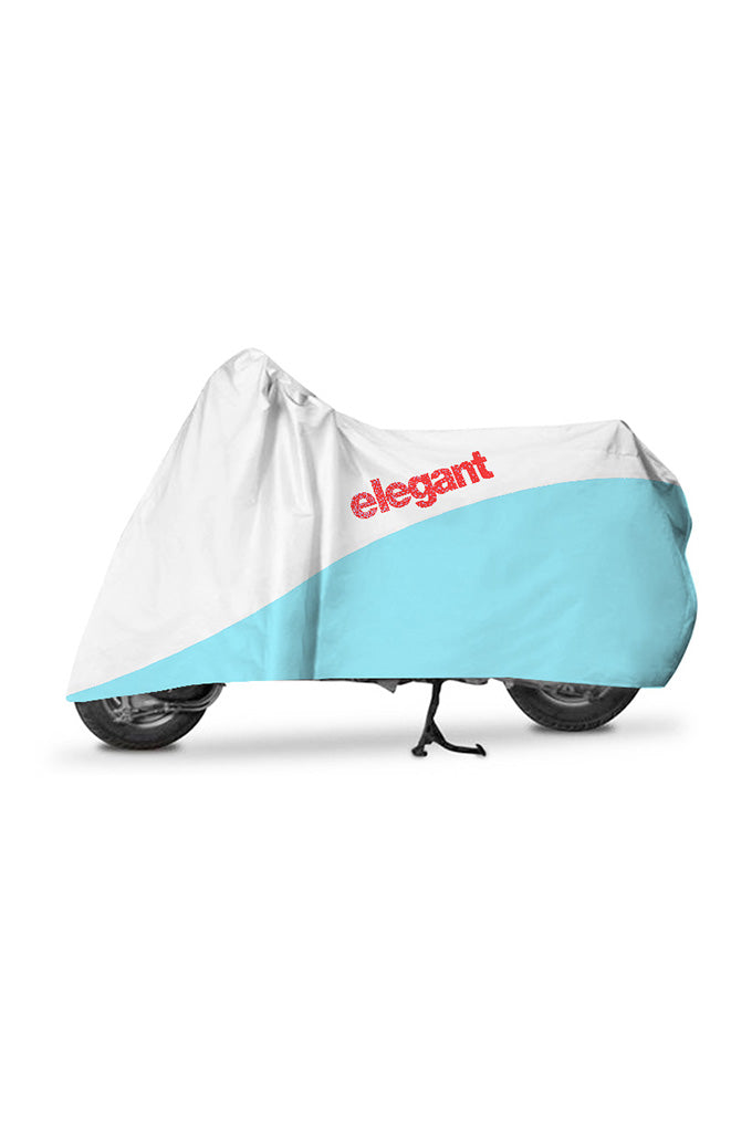 Elegant Body Cover WR White And Blue for Scooters