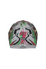 Steelbird Air Griffon Full Face Helmet-Matt White With Green