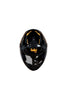 Steelbird Air Speed Full Face Helmet- Matt Black With Orange