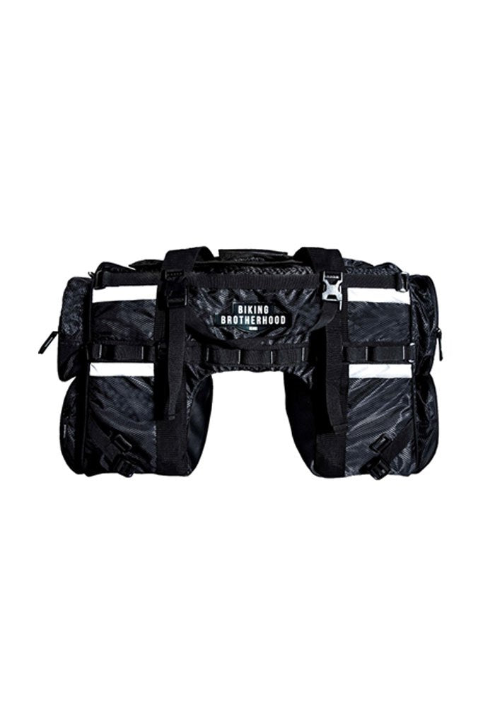 Biking Brotherhood Tail Bag Black