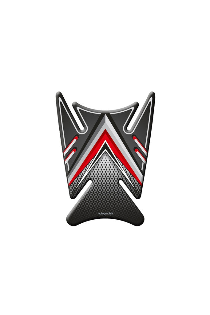 Titanium Bike Tank Pads-Red