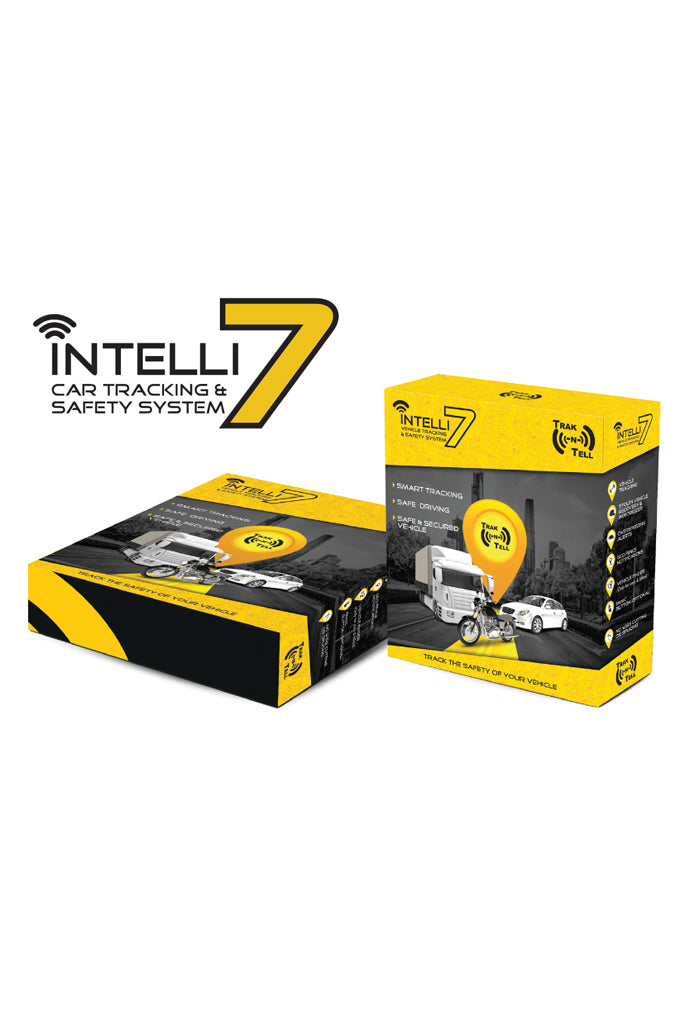 Trak N Tell Intelli7 Car Tracking & Safety System with 3 Years Subscription