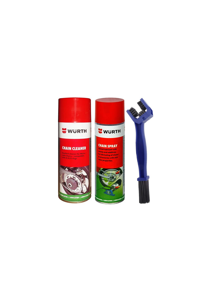 Wuerth Motorcycle Care Combo 1