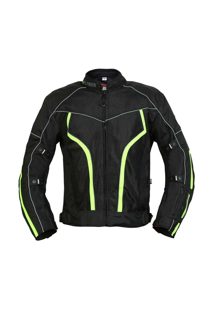 Biking Brotherhood Xplorer Jacket - Fluorescent