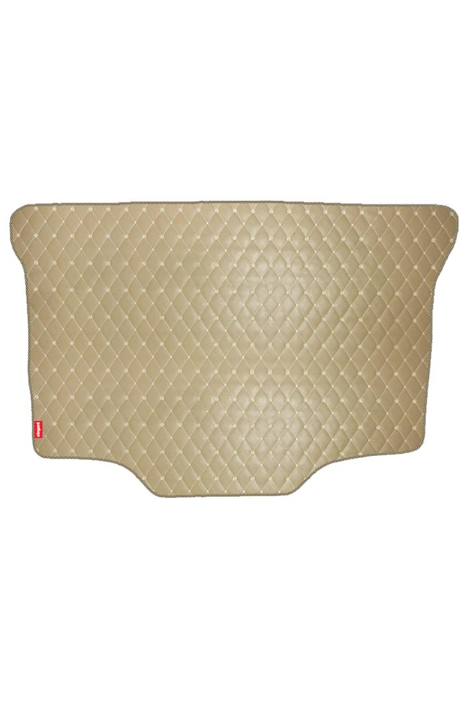 Luxury Leatherette Car Dicky Mat Beige