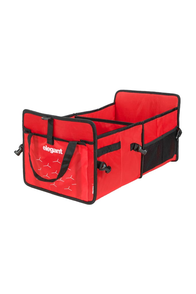 Car Trunk Organizer - Red