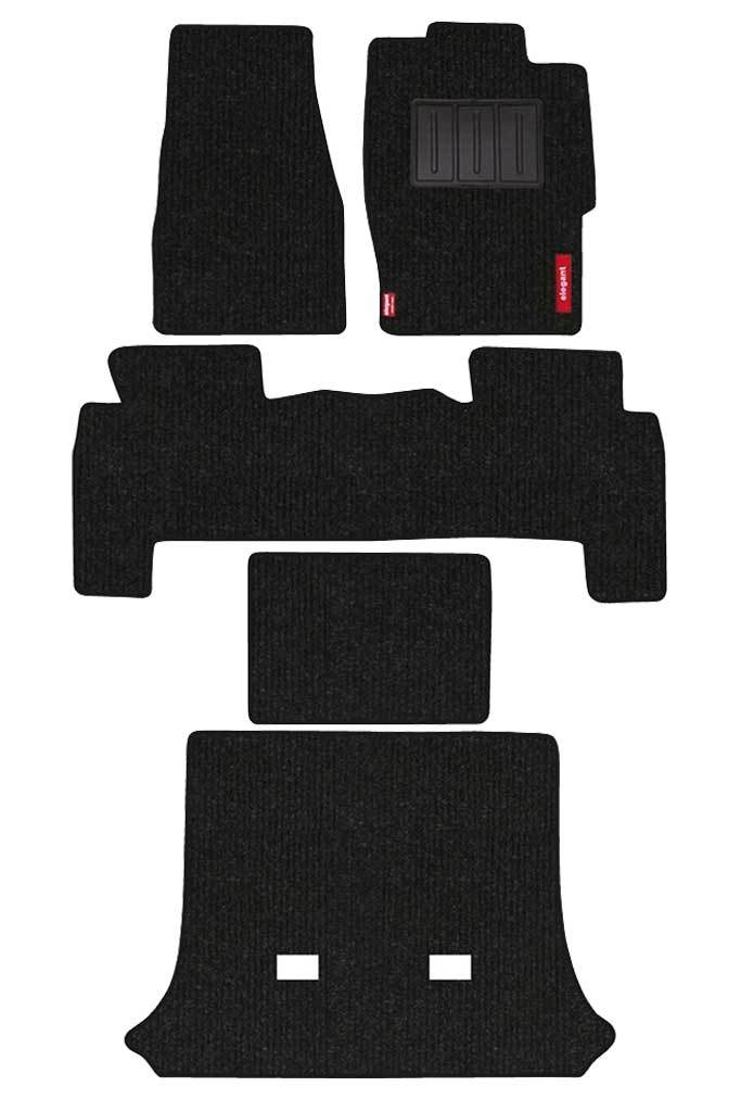 Carry Carpet Car Floor Mat Black (Set of 5)