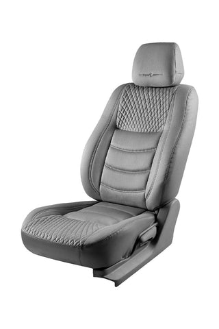 Veloba Crescent Fabric Seat Cover Grey