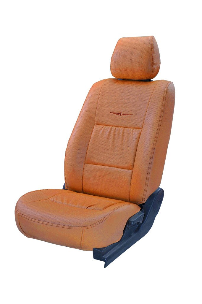 Trend Neo Gladiator Art Leather Car Seat Cover Tan
