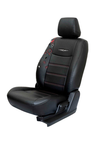Glory Cub Art Leather Car Seat Cover Black