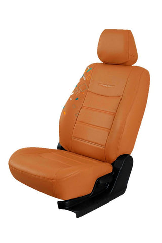 Glory Cub Art Leather Car Seat Cover Tan