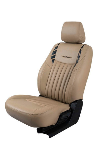 Glory Leo Art Leather Car Seat Cover Beige