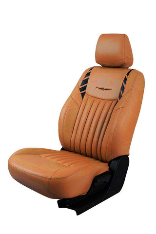 Glory Leo Art Leather Car Seat Cover Tan