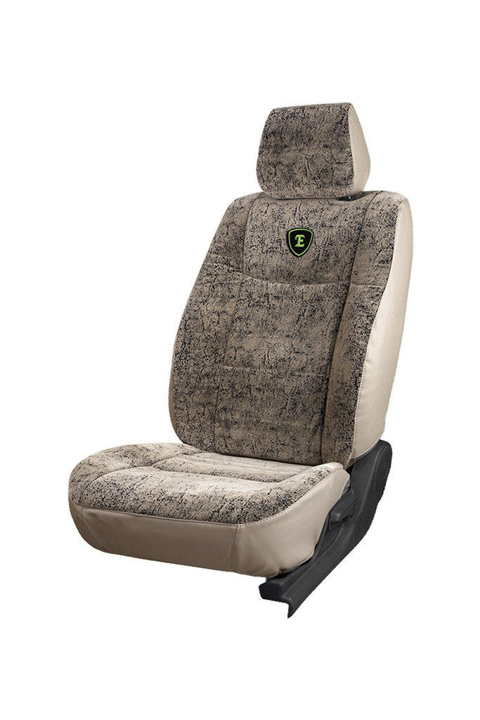 Europa Bucket Safari Fabric Seat Cover Beige