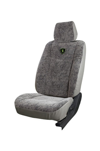 Europa Bucket Safari Fabric Car Seat Cover I-Grey