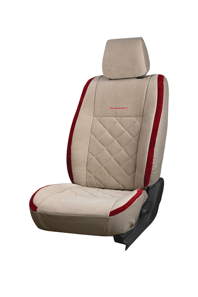 Europa Racer Fabric Car Seat Cover Beige