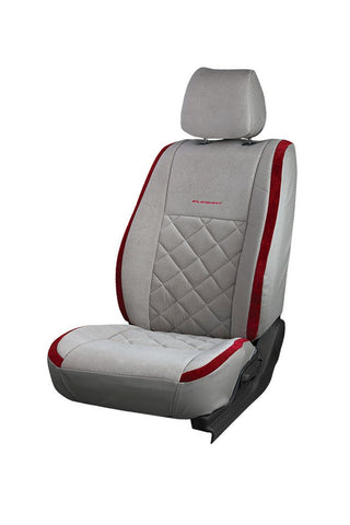 Europa Racer Fabric Car Seat Cover Grey