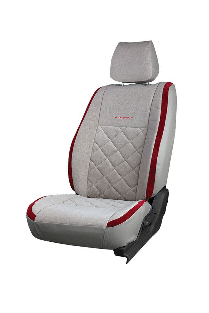 Europa Racer Fabric Car Seat Cover I-Grey