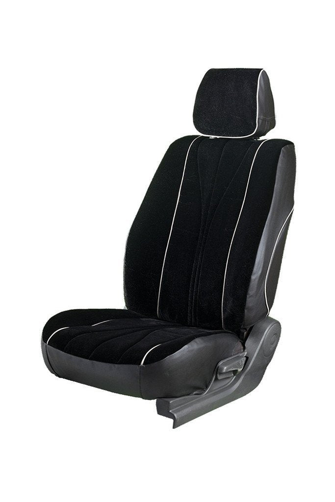 Europa Rider Fabric Car Seat Cover Black