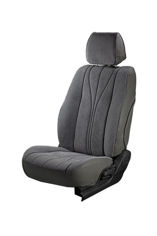 Europa Rider Fabric Car Seat Cover Grey