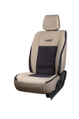Europa Turbo Fabric Car Seat Cover Beige