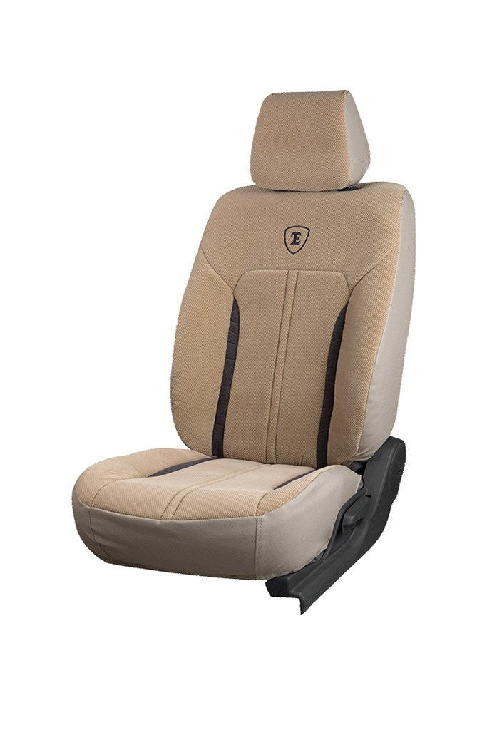 Europa Velocity Fabric Car Seat Cover Beige