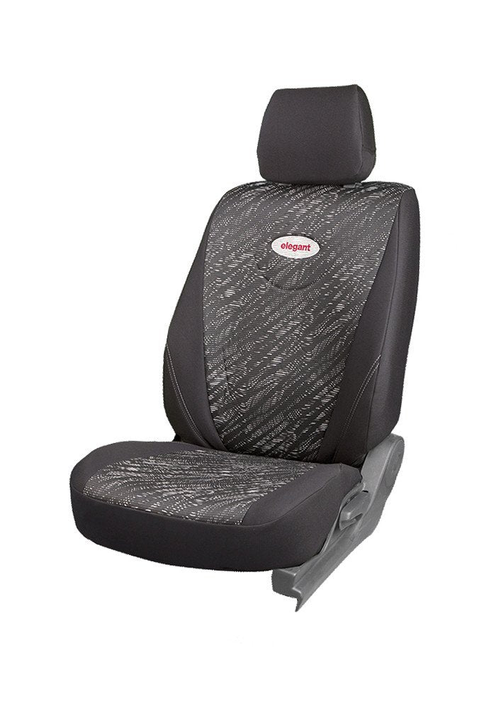 Fabguard Fabric Car Seat Cover Black