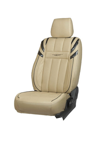 Fresco Sportz Bucket Fabric Seat Cover Beige