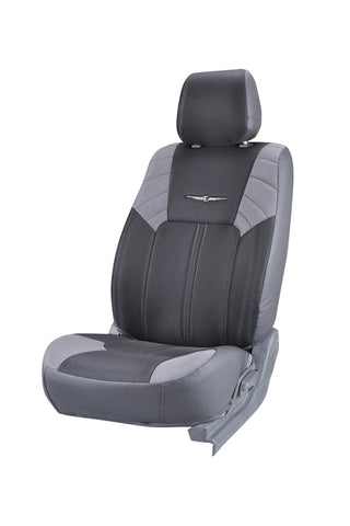 Fresco Sonic Fabric Seat Cover Black