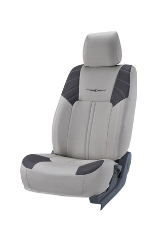 Fresco Sonic Fabric Car Seat Cover I-Grey