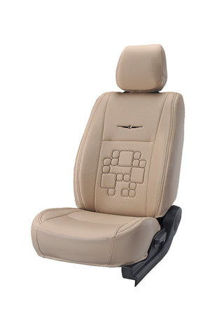 Fresco Ultra Fabric Car Seat Cover Beige