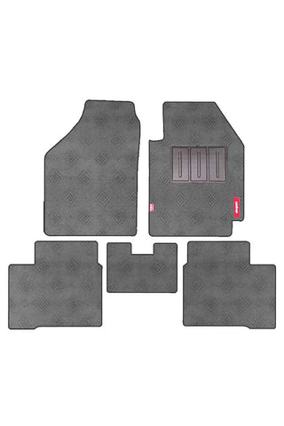Jewel Anthra Car Carpet Floor Mat Grey (Set of 5)