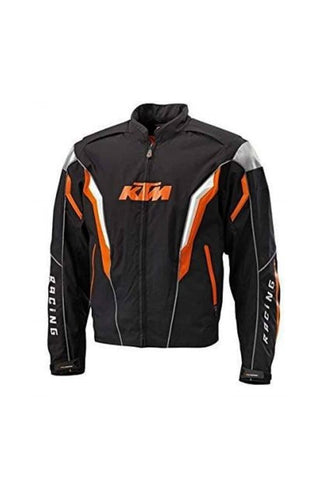 Biking Brotherhood KTM Jacket Black and Orange