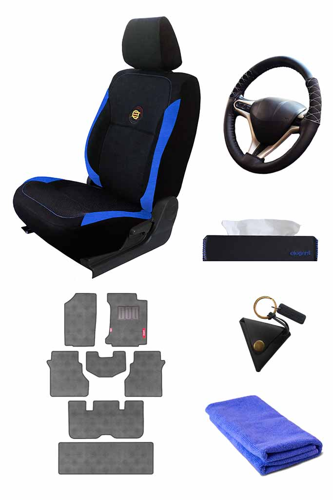 Complete Car Accessories Economy Combo 8