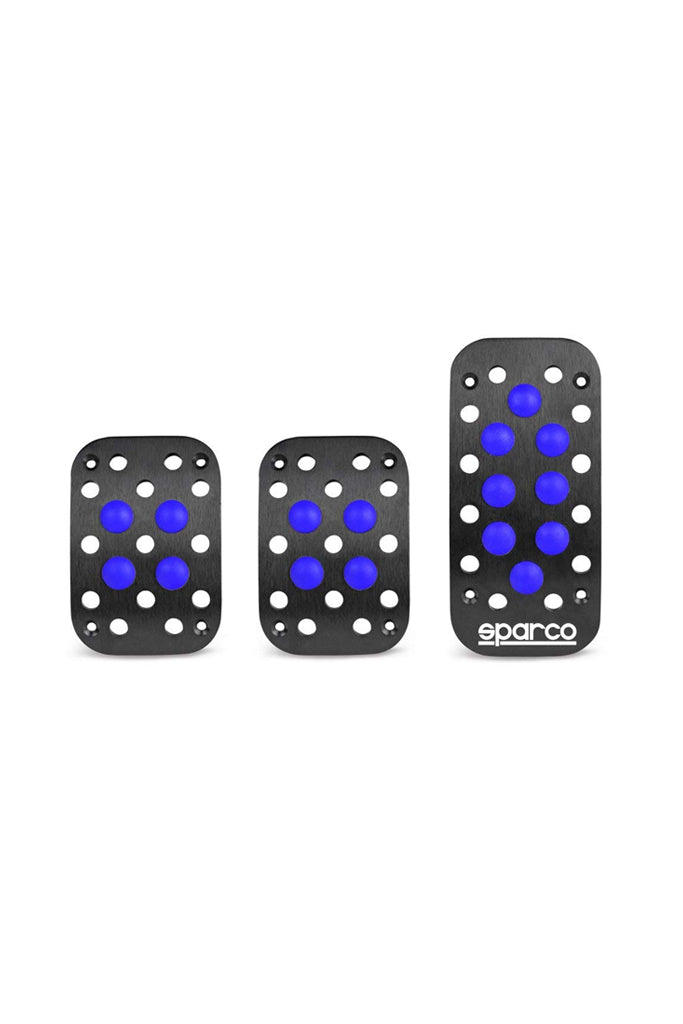 Sparco Sicilia Pedals Black and Blue